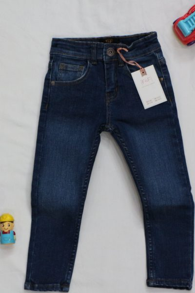Boy's Skinny Slim Fit Denim PantsF-23-08-20-F