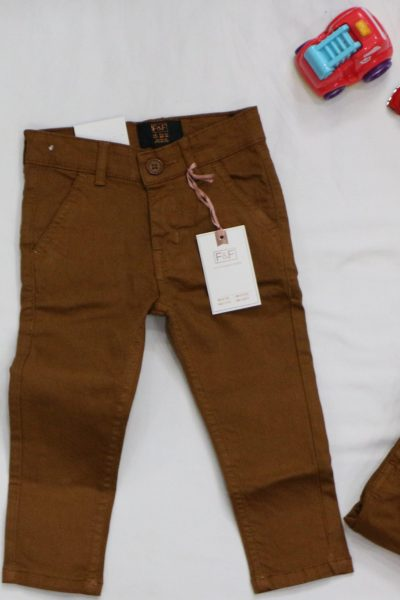 Boy's Skinny Slim Fit Denim Pants