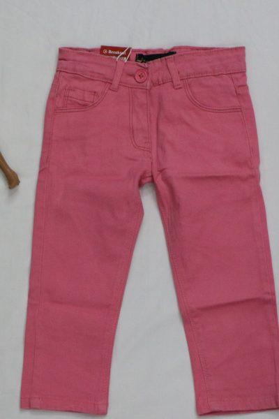 GIrls Pink Cotton Pant