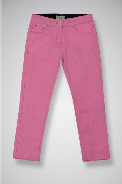 Girl's Twill Casual Pants TWIST-2-10-20-10