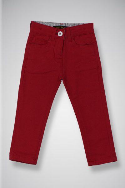 Kids' Twill Casual Pants TWIST-2-10-20-3