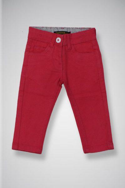 Girl's Twill Casual Pants TWIST-2-10-20-9