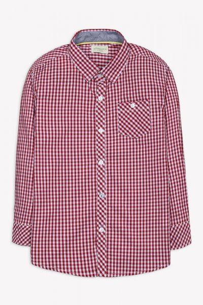 New Checkered Shirt Red Checks 1612